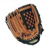 Baseball handschoen verbonzen